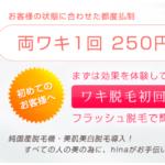 脱毛サロンhina(ヒナ)の店舗情報